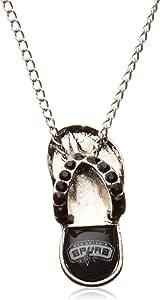 NBA San Antonio Spurs Crystal Flip Flop Necklace
