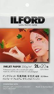 ILEFOD 高级缎子 127x178 20片装 422520