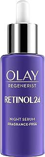 Olay 玉兰油 Regenerist Retinol 24 视黄醇夜间保湿霜,不含血清和维生素B3,夜间清香,40毫升