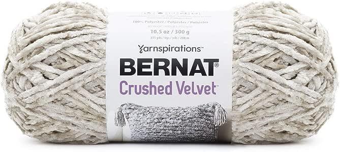 Bernat 碎天鹅绒纱线 奶油色 16101616002
