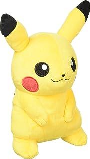 Sanei Pokemon All Star 系列皮卡丘填充毛绒玩具,7 英寸