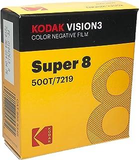 KODAK VISION3 500T/7219 彩色负面膜,SP464 Super 8 墨盒,50 英尺卷