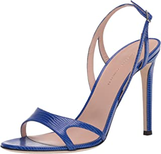 Giuseppe Zanotti 女式 E000134 高跟凉鞋,蓝色,11.5 M US