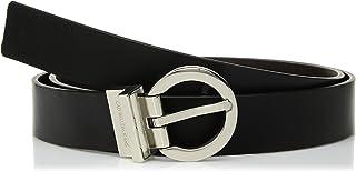 Calvin Klein 女士双面皮带 黑色/棕色 2X