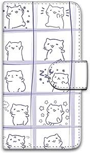 MitchiriNeko 翻盖手机壳 Mitchiri 绘制印花保护壳 笔记本式 みっちり構わぬC 1_ iPhone6s
