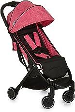 德国品牌 hauck 婴儿推车-swift玫红色(免安装/可上飞机)(亚马逊自营商品,由供应商配送)