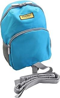 Emmzoe Neon 幼儿背包带*带牵引绳 霓虹蓝色