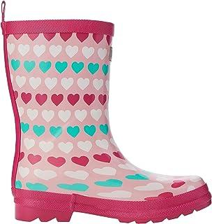 Hatley 女童印花惠灵顿雨靴