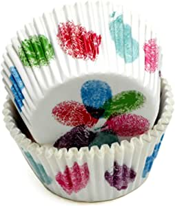 Chef Craft 50 Count Cupcake Liners, Thumbprints