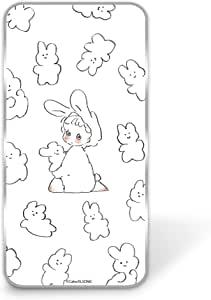 Caho 壳 透明 硬质 印刷 兔子WN-LC1014127 7_ Huawei Mate 10 ALP-L29 兔子D