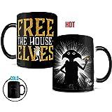 Morphing 马克杯 哈利波特 Always Heat Reveal 陶瓷咖啡杯 Free The House Elves 11OZ MMUG603