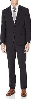 CALVIN KLEIN 男士 X 合身弹力修身商务西装裤套装