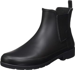 Hunter 女士 W ORG Refined 切尔西靴 黑色 38 EU