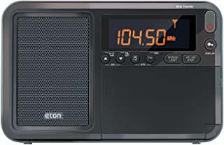 Eton Elite Traveler AM/FM/LW/短波收音机带 RDS 和定制皮革手提罩