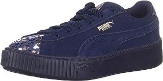 PUMA 彪马 Suede Platform 儿童运动鞋