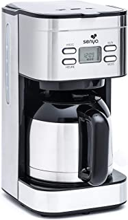 Senya 咖啡机 可编程热水壶 热咖啡 不锈钢 升 800