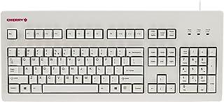 CHERRY MX 板静音键盘,白色 - 104 键