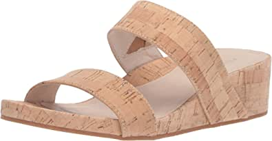 Kenneth Cole New York 女士 Gia 低坡跟拖鞋 天然 6.5 M US