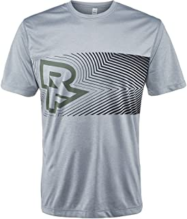 Race Face TRIGGER TECH TOP - SHORT SLEEVE GREY/HUNTER XXL