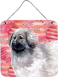 Caroline's Treasures Moscow Watchdog Love 金属印花,6 高 x 6 宽 多色