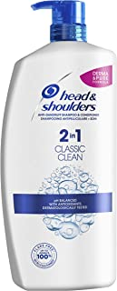 Head & Shoulders Classic Clean 2合1,去屑洗发水和护发素,1000毫升