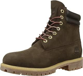 Timberland 添柏嵐 男士 6英寸/15.24cm 雙領防水經典靴子