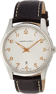 Hamilton H38511513 Jazzmaster 男式手表 - 银色表盘