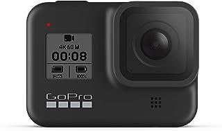 GoPro HERO8 黑色 - 防水動作相機帶觸摸屏,4K 超高清視頻 1200 萬像素照片 1080p 實時流穩定
