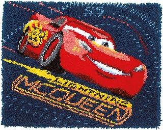 Vervaco Latch Hook:地毯 - 汽车防震轮胎,多种颜色