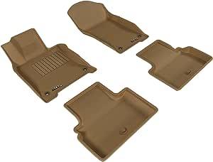 3D MAXpider 定制适合全天候地垫 棕褐色 L1IN01701502