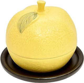 SAJI 佐治陶器 万古烧 奶奶风格 烤橘子器皿 40-35