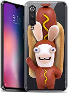 Caseink 保护壳适用于小米 Mi 9 SE (5,97) The Lapins Crétins® [官方系列] 设计[耐冲击 - 柔软 - 超薄]CPRNTLCMI9SEHOTDOG  Xiaomi Mi 9 SE Xiaomi Mi 9 SE Hot Dog Crétin