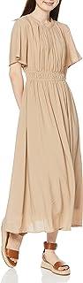 N. Natural Beauty Basic连衣裙 抽褶腰连衣裙 女士 166-0140428
