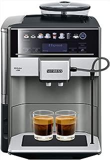 Siemens 西門子 te655203rw 獨立式咖啡機 1.7L 2杯 黑色,灰色,銀色