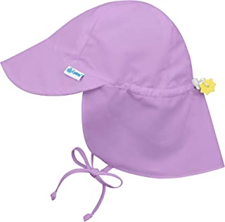 i play. Baby Flap Sun Protection Swim Hat, Lavender, 9-18 Months