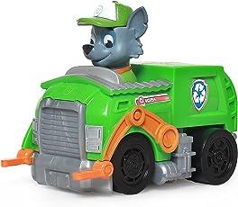PAW PATROL 汪汪队立大功 收藏版救援赛车系列玩具 小号 环保回收车+灰灰(供应商直送)
