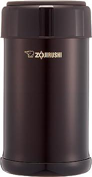 ZOJIRUSHI 象印 保温盒 不锈钢 便当盒 保温 保冷烹调 750ml 深可可色 SW-JA75-TD