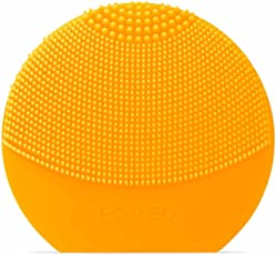 FOREO 斐珞尔 LUNA Play Plus 便捷式洁面仪,向日葵黄色,可更换电池,防水