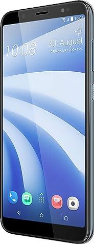 HTC U12 Life 智能手机(15.24 厘米(6 英寸)18:9 LTPS 显示屏,64 GB 内部存储器和4 GB RAM,双 LED 灯,双 SIM,前闪,安卓 8.1)99HAPK004-00 64GB 月光蓝
