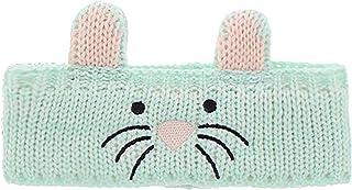 Critter 儿童耳朵保暖头带 - 温暖动物针织帽冬季头套