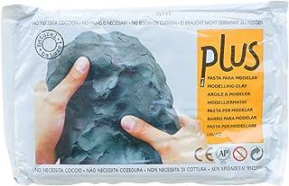 Plus Natural Self-Hardening Clay 2.2lb-Black