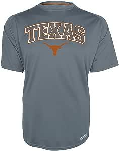 NCAA Texas Longhorns 男式 Training 2 短袖圆领衬衫,XL 码,灰色