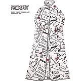 西川家居用品 史努比 可穿着毯 粉色 肩幅41cm着丈158cm裾幅83cm 2083-08684