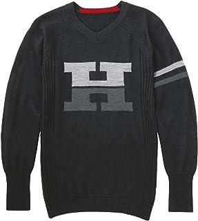 Honda (本田) SHINICHIRO ARAKAWA羊毛针织内衣 0SYEL-X5L M 黑色 0SYEL-X5L-KM