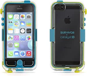 Griffin Survivor Waterproof and Catalyst Case for iPhone 5/5S Turqouise