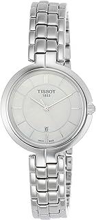 Tissot Flamingo 珍珠母表盘不锈钢女士石英手表 T0942101111100