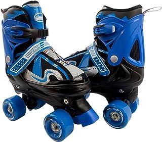ELIITI 儿童四轮滚轮滑 男孩 可调尺寸 10J 至 6