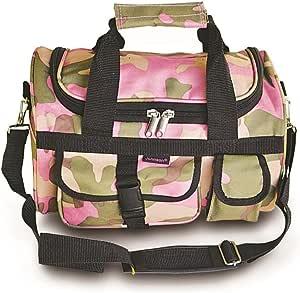 """Explorers 13"""" 迷彩行李袋结实耐用! (防风雨/防水) 粉色迷彩 小号"""
