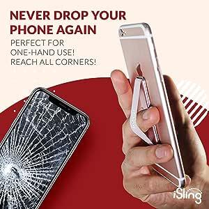 iSling - *舒适、*且时尚的手机手柄和平板手柄支架和支架 红色