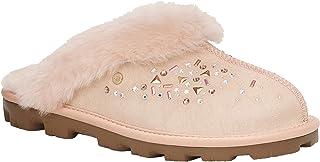 UGG Australia 女士 W Coquette Galaxy 露背拖鞋 Pink (Quartz Qrt) 7 UK